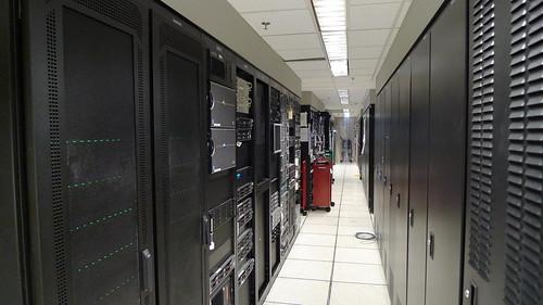 Long Server Room