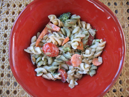 broccoli ranch pasta salad