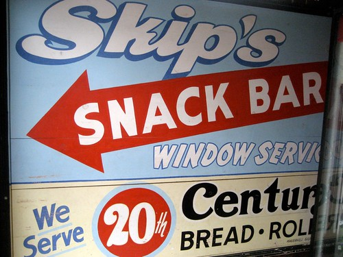 Skip's Snack Bar Sign
