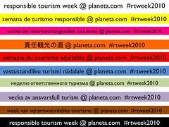 Multilingual Responsible Tourism Week