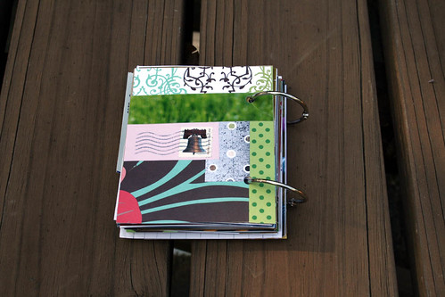 27 Minibook: back cover.