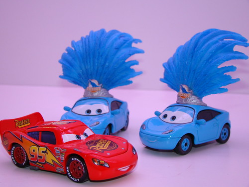 Disney CARS Dinoco ShowGirls 3 Pack (2)