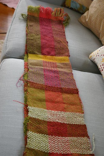 Weaving sampler
