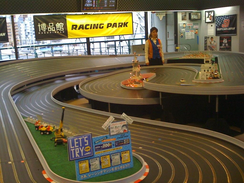 Racetrack, Hakuhinkan Toy Park, Ginza