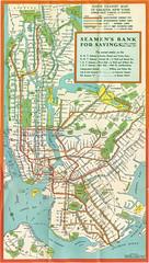 NYC Subway Map 1939