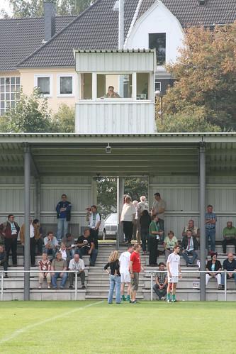 Stadion am Blötter Weg: Halbzeitpause