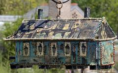 New Orleans-style Birdhouse - New Orleans Botanical Garden