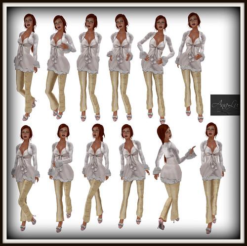 38 :: -AnaLu- *fresh poses* (445-456)
