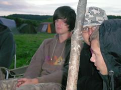 Ben, Steven & Jack with The Poky Stick
