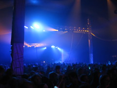 The dance tent