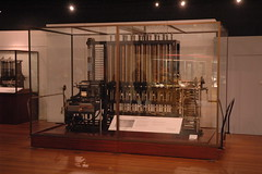 Charles Babbage's Difference Engine 2 at the S...