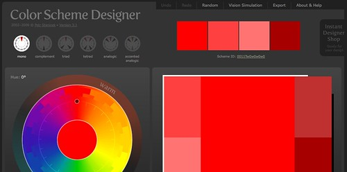 Color Scheme Designer 3 – EBI Interfaces