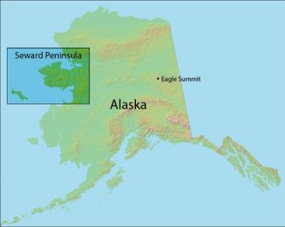 Map of Seward Peninsula