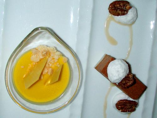 Passion Fruit Panna Cotta at Michael Mina, MyLastBite.com