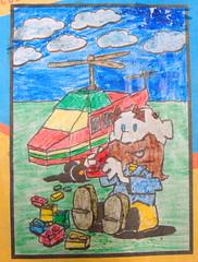 Mikael N, age 6