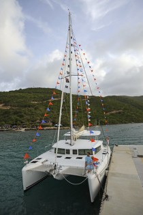 The Wedding Boat, in full glory