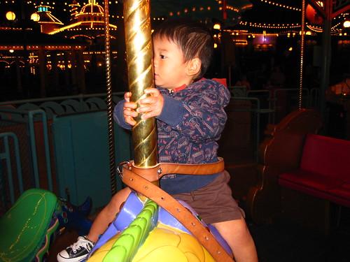 King Tritons Carousel!  We went twice.