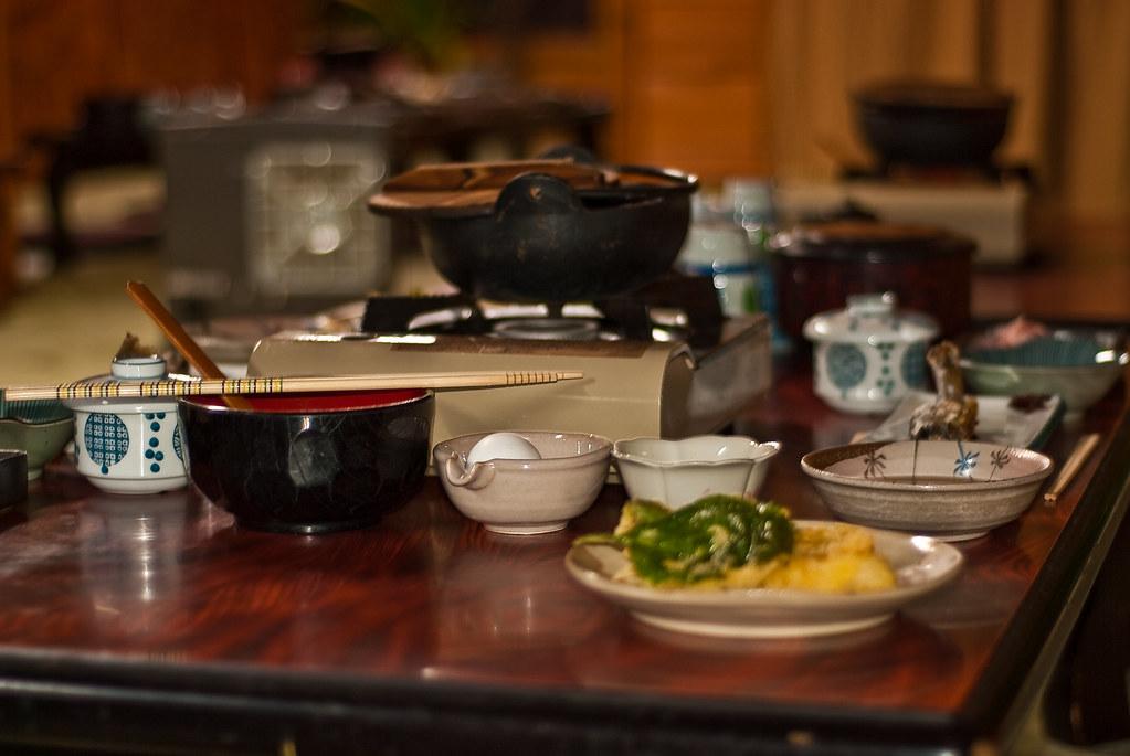 Yudanaka Ryokan Dinner