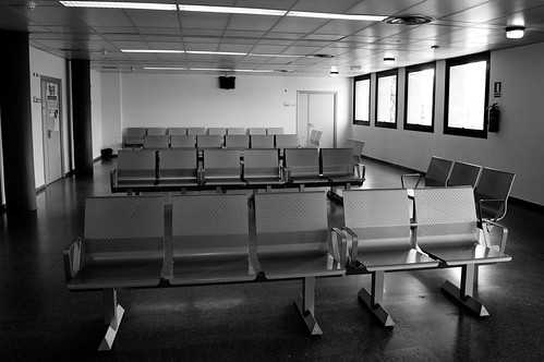 Sala de espera sin esperas