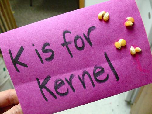k is for kernel