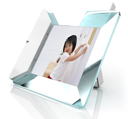 Digital Photos Frame with telephone 2