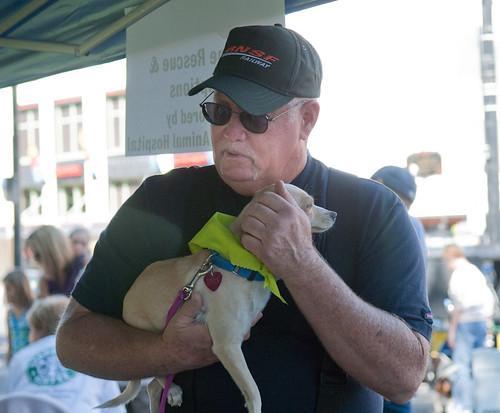 Gary Holding Puppy