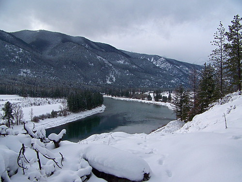 Clark Fork River at Weeksville Creek