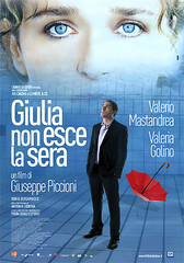 Locandina del film Giulia non esce la sera di Giuseppe Piccioni