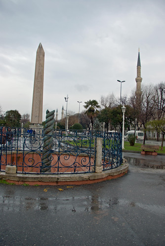 The Serpent Column and Obelisk of Thutmosis III, Sultanahmet square, İstanbul, Pentax K10d