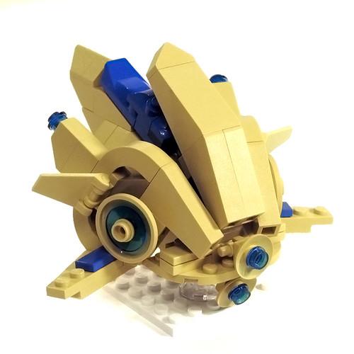 LEGO Protoss Probe from StarCraft II