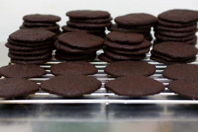 chocolate wafers