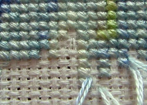 Pin stitch end 3