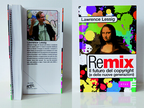 My photo of Lessig has been remixed