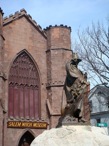 Salem Witch Museum, photo by Kate Hedin