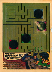 Cartoon Maze Card