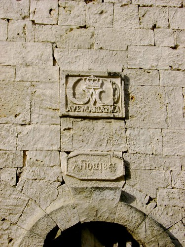 Bas Relief that can be found in the bell tower