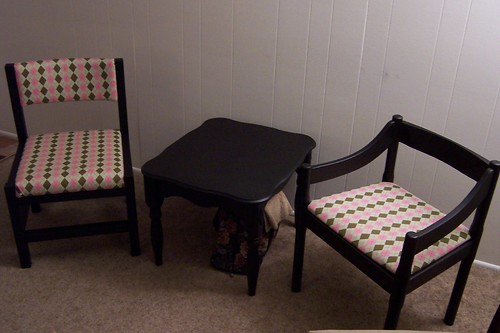 Argyle Chair: Finis!