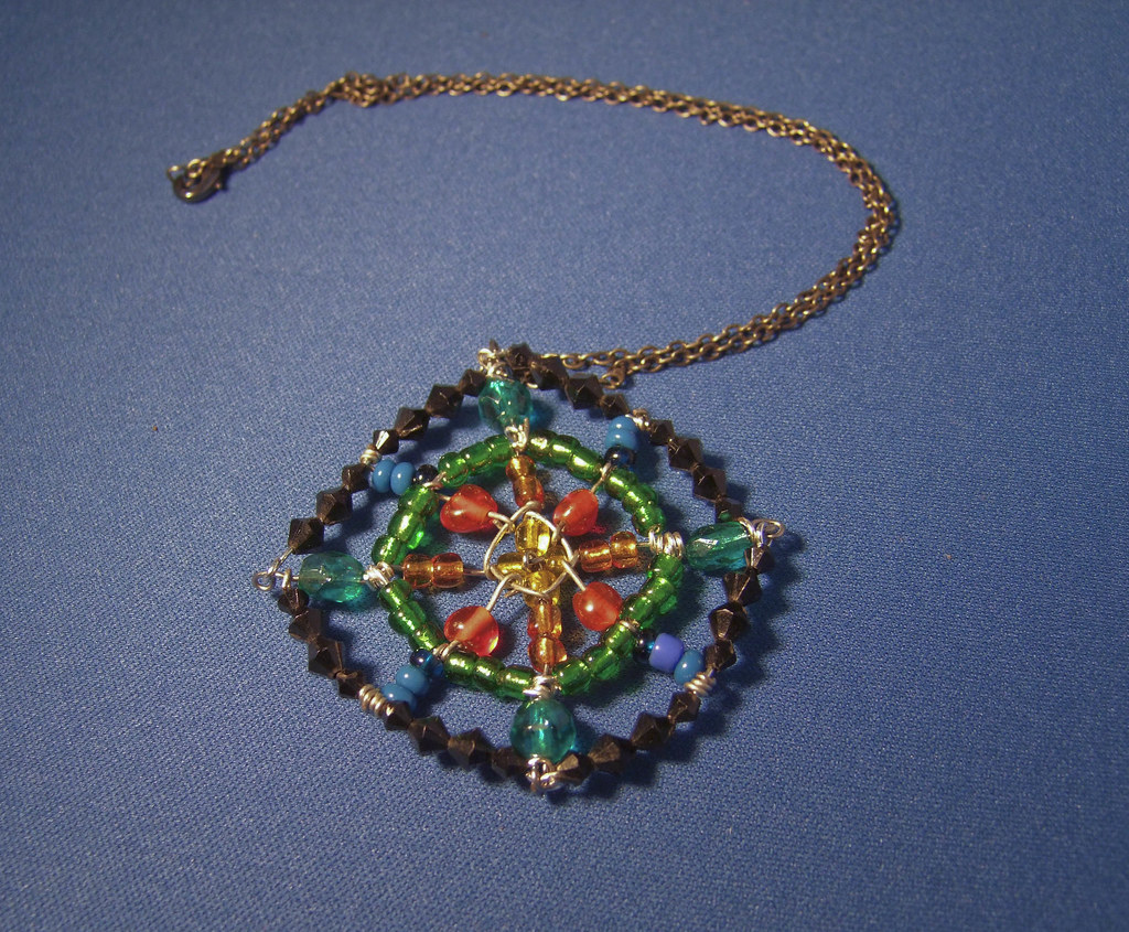 Necklace Mandala - my own design