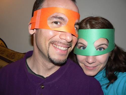 Superbowl - Masked Ryan and Masked Vicky