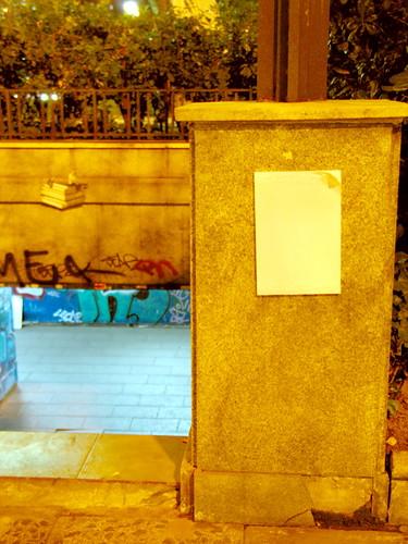 ex-escrito en la pared