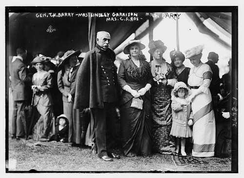 Gen. T.H. Barry, Mrs. Lindley Garrison, Mrs. B...
