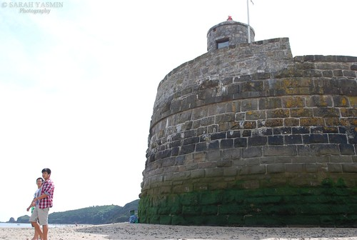old guardhouse at saundersfoot
