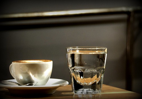 The perfect pour, by the best barista. Intelligentsia Venice, Abbot Kinney First Friday - 10/2 by you.