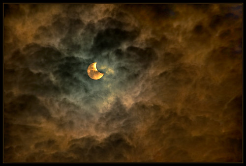 Ghostly Eclipse from Southern Africa