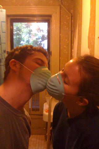 mask kiss