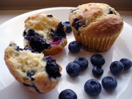 Ina Garten Blueberry Coffee Cake Muffins