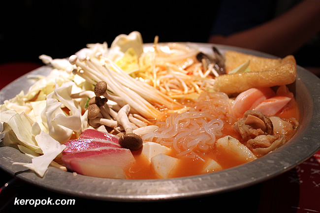 Spicy Seafood Hot Pot