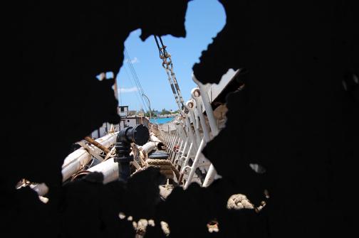 holes in bulkhead