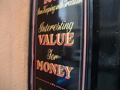 Interesting value for money