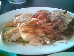 Rasa Sayang's mixed meat platter